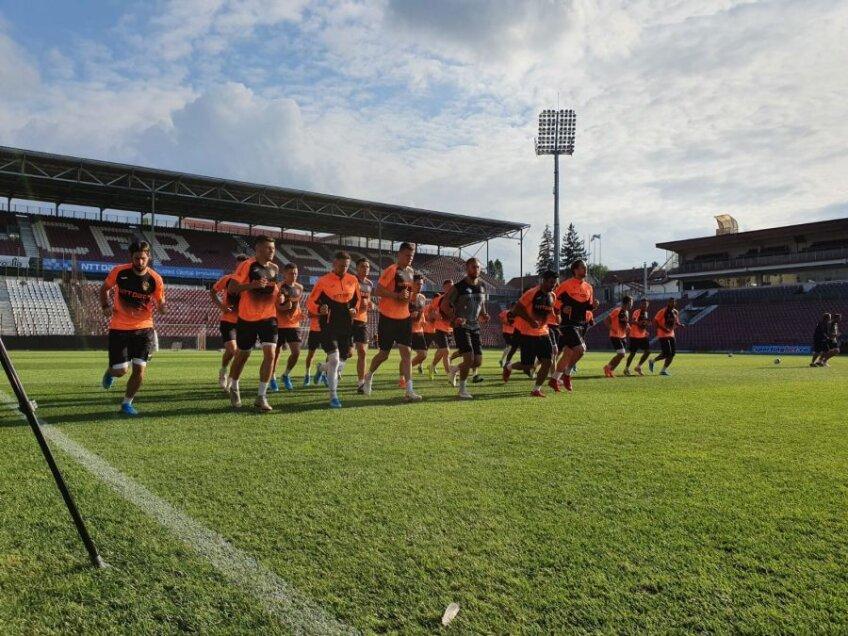 CFR Cluj - antrenament