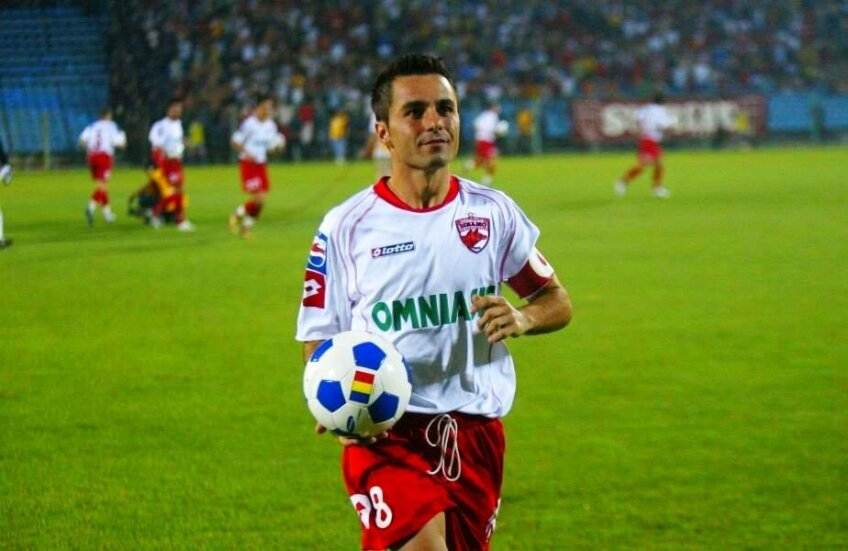 Florentin Petre, jucător la Dinamo