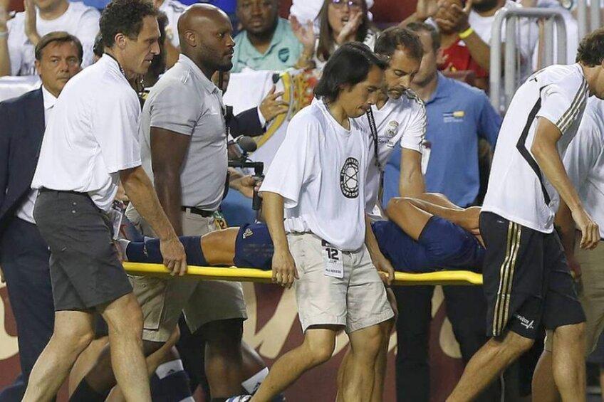 Accidentarea suferită de Marco Asensio