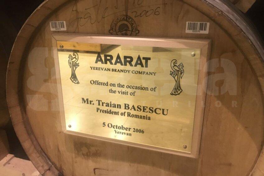 GSP face o incursiune printre butoaiele de coniac ale fabricii Ararat din Erevan // foto: Andrei Crăițoiu (Gazeta Sporturilor)