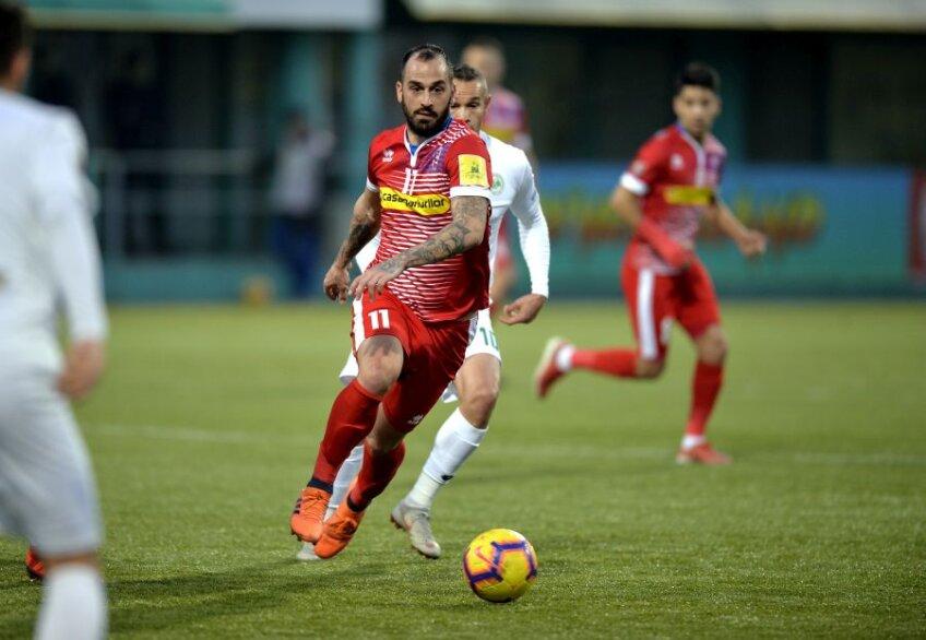 Soleidis mai are un an de contract cu FC Botoșani, echipă cu care a semnat în iulie 2018 // FOTO Ionuț Tabultoc