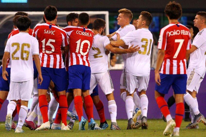 Real Madrid - Atletico Madrid 3-7 // foto: Reuters