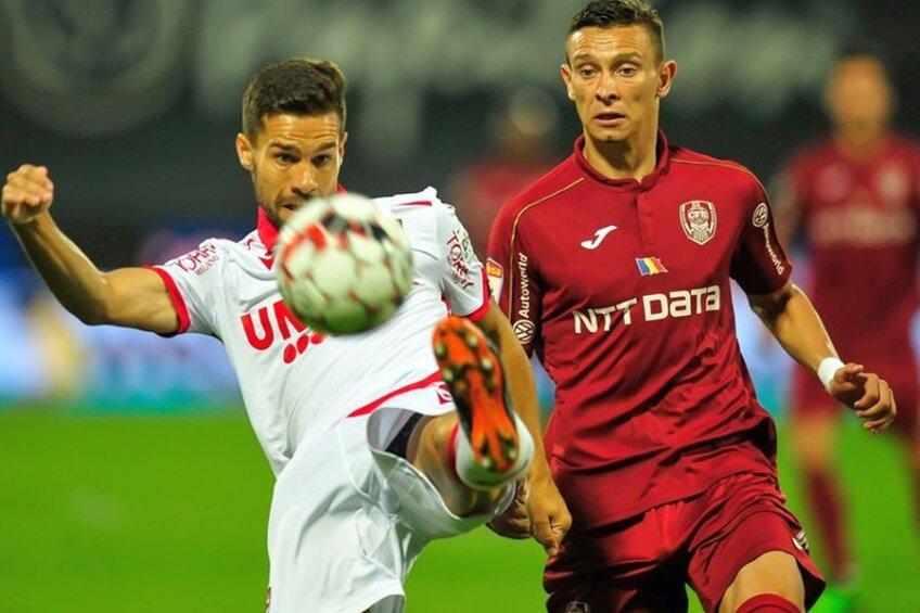 CFR Cluj - Dinamo 1-0 // Sursă foto: Facebook CFR Cluj