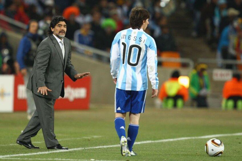 Diego Maradona, Leo Messi (foto: Guliver/Getty Images)