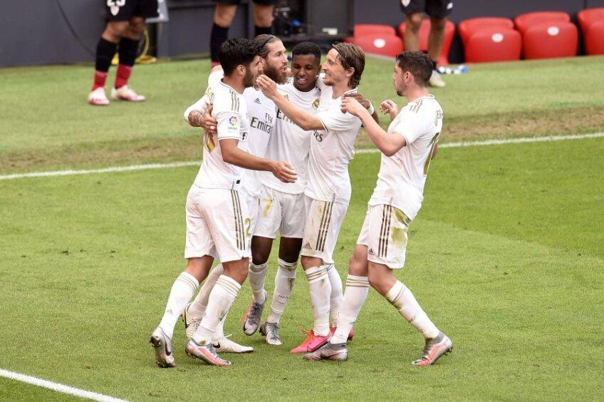 Real Madrid este lider în La Liga cu 4 etape înainte de final // foto: Guliver/gettyimages