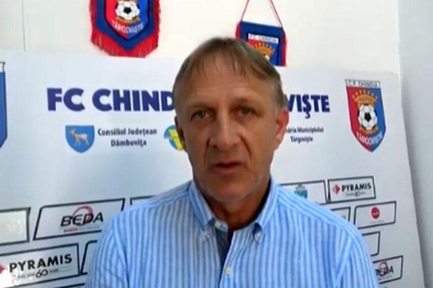 Emil Săndoi resimte presiunea retrogradării după înfrângerea Chindiei cu Hermannstadt