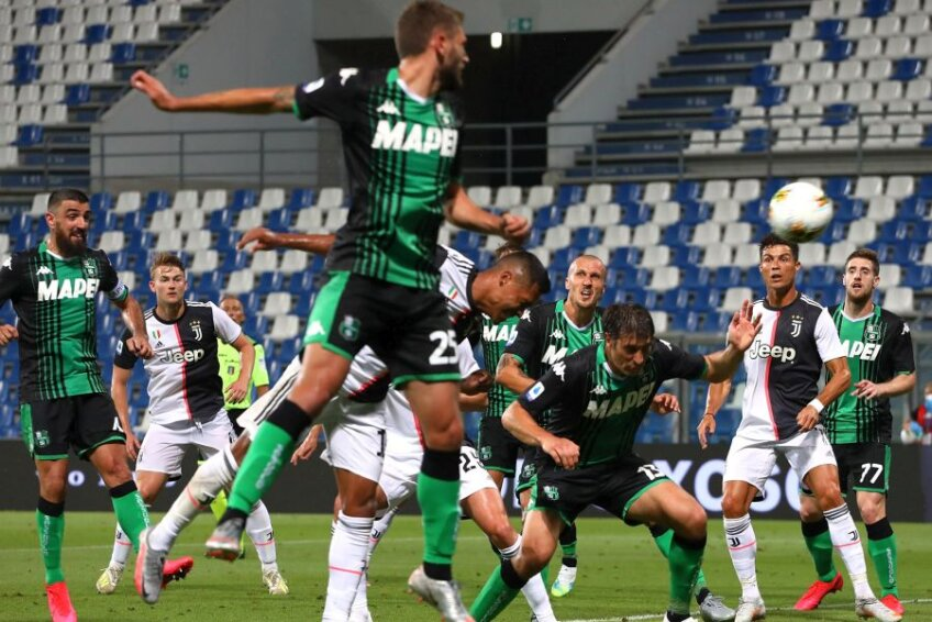 Sassuolo - Juventus. foto: Guliver/Getty Images