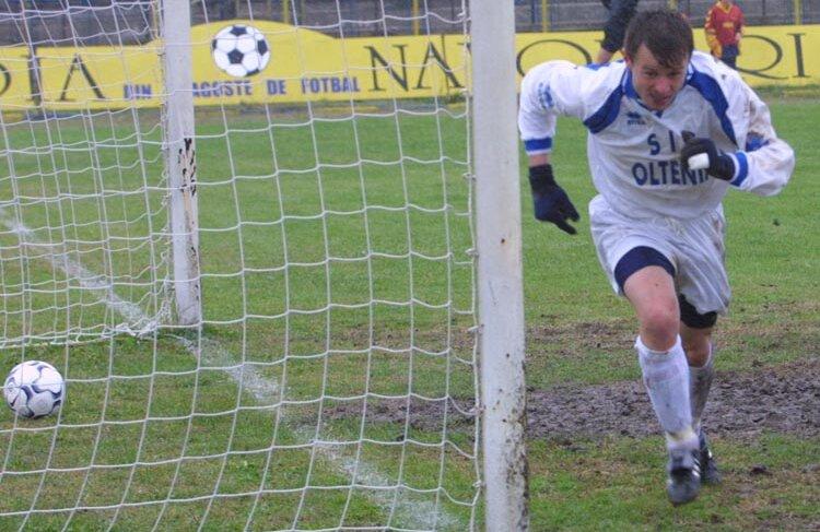Bobi Verdeş a fost eroul meciului Universitatea Craiova-Steaua din 2002, 3-1