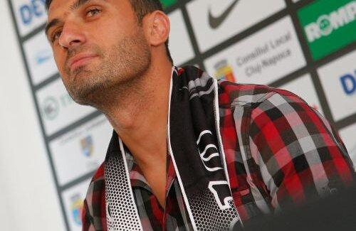 Claudiu Niculescu a promis că îşi va încheia cariera la U Cluj