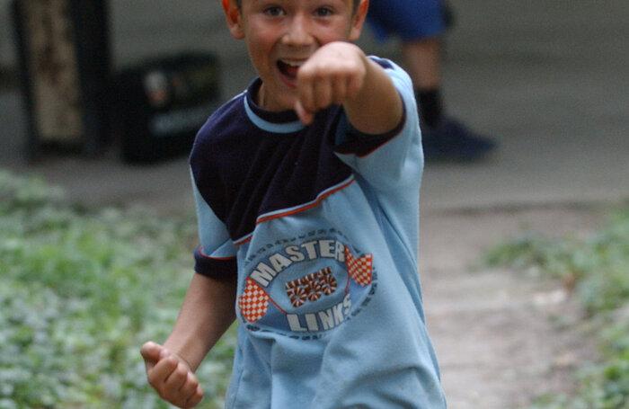 Andrei Vaştag, aici pe vremea cînd avea 9 ani, n-a apucat să facă ravagii în ring cu stînga sa Foto: Cristi Preda