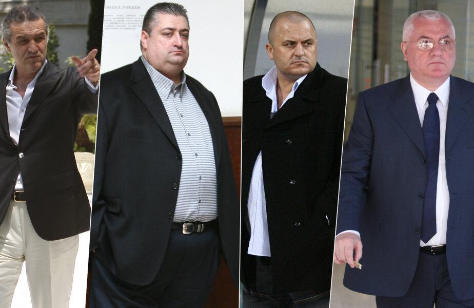 Gigi Becali, Marian Iancu, Adrian Mititelu şi Dumitru Dragomir