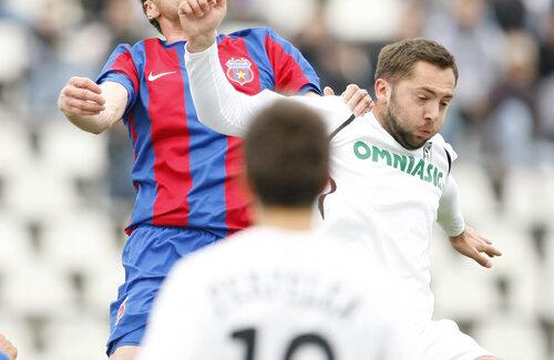 Raţiu e produs sută la sută al Sportului, dar a mai jucat în Liga 1 şi la Timişoara Foto: Cristi Preda