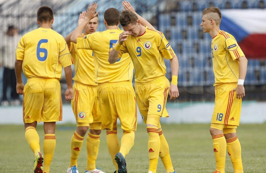 Echipa naţională a României participă la Campionatul European Under-17
