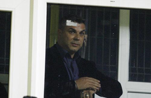 Olăroiu, emoţionat înaintea debutului Foto: Lorand Vakarcs