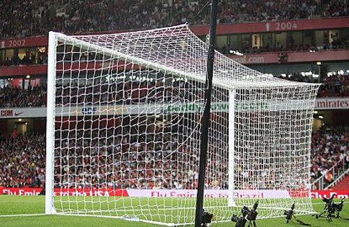 Poarta de pe stadionul Emirates, din Londra