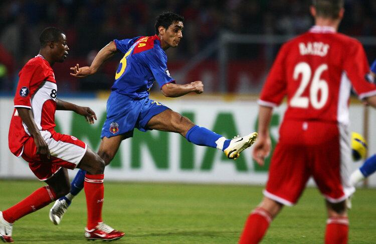 Bănel Nicoliță în Steaua - Middlesbrough