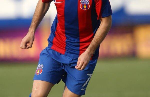 Janos Szekely a evoluat timp de trei sezoane la Steaua, înainte de transferul la Volga Novgorod Foto: Alex Nicodim