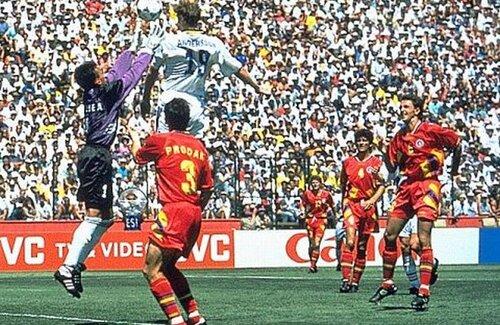 Faza golului marcat de suedezul Kennet Anderson