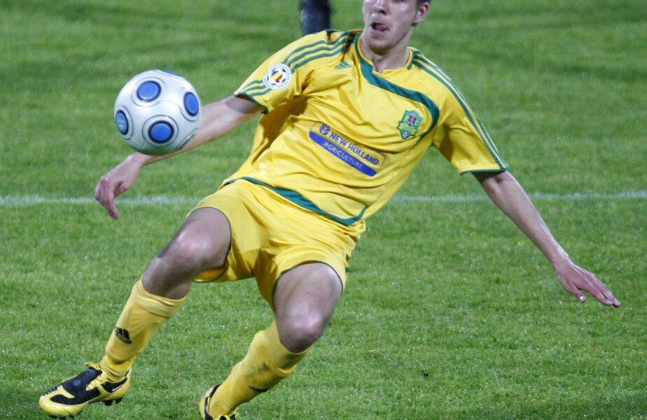 Denis Zmeu a marcat golul vasluienilor
