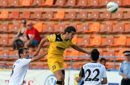 Chipciu a marcat ieri primul gol al braşovenilor în acest campionat