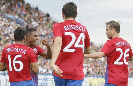 În prima etapă Steaua a obţinut doar o remiză pe terenul Voinţei