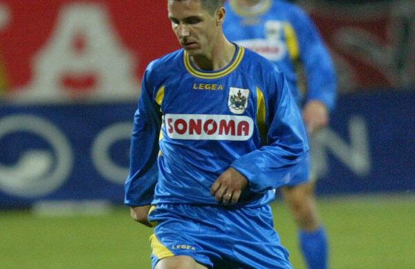 Răducan a evoluat în tricoul lui AEK în 24 de meciuri și a marcat 6 goluri, terminînd fix la mijlocul clasamentului, pe locul 7