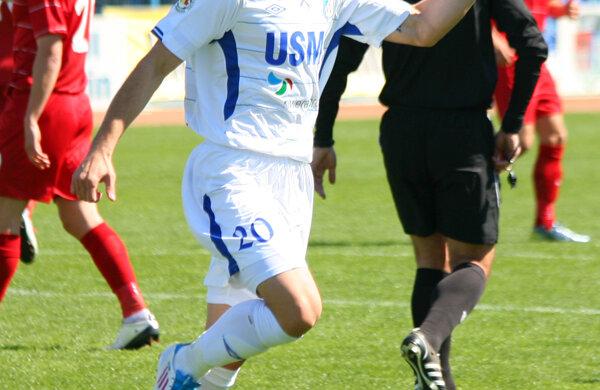 Vranjes are 34 de partide în tricoul gorjenilor şi 8 goluri marcate
