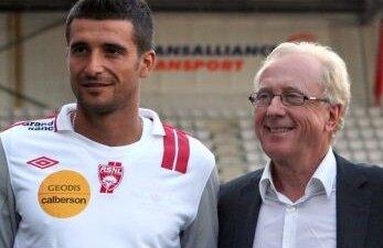 Daniel Niculae alături de Jean Fernandez