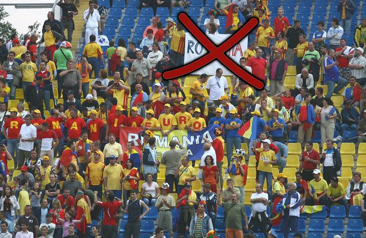 Fără bannere de susţinere la România - Franţa!