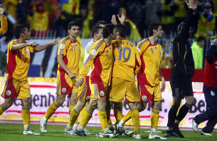 EURO 2008 a fost ultimul turneu final la care s-a calificat România