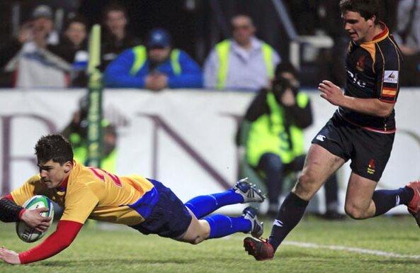 Valentin Calafeteanu ratează meciul cu Scoţia Foto: Reuters