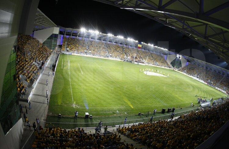 Imagini de la inaugurarea stadionului