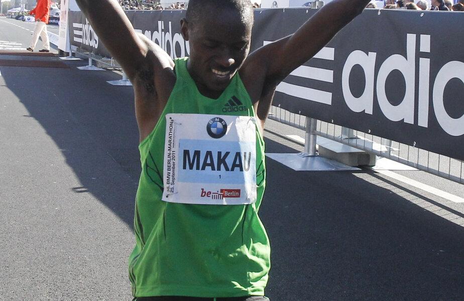 Patrick Makau deține noul record mondial la maraton foto:reuters