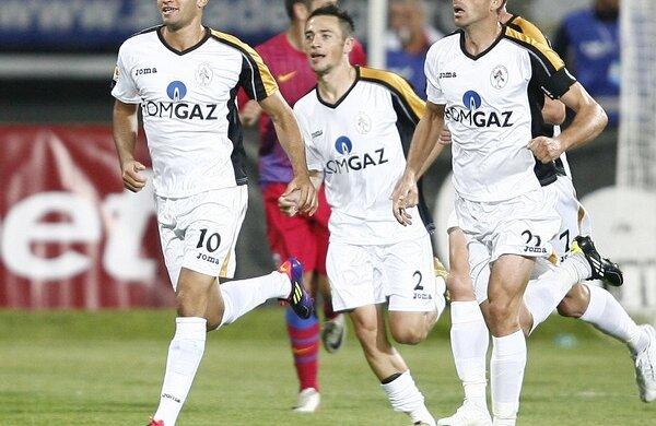 Thaer Bawab a marcat primul gol al medieșenilor în ultima victorie, 3-0 cu Steaua