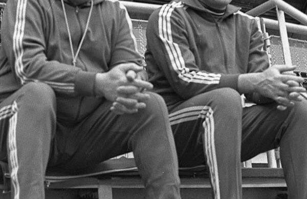Oprea Vlase (dreapta) şi Nicolae Nedef, în 1974, anul în care România a cucerit ultimul titlu mondial la masculin Foto: Arhivă Gazeta Sporturilor