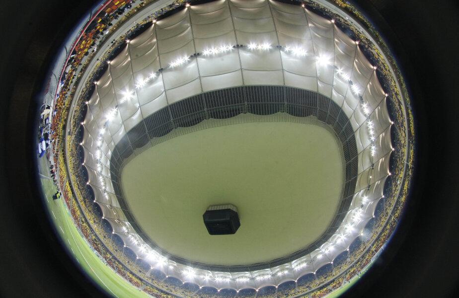 Naţional Arena a fost plină aseară în Steaua-Rapid 0-0
