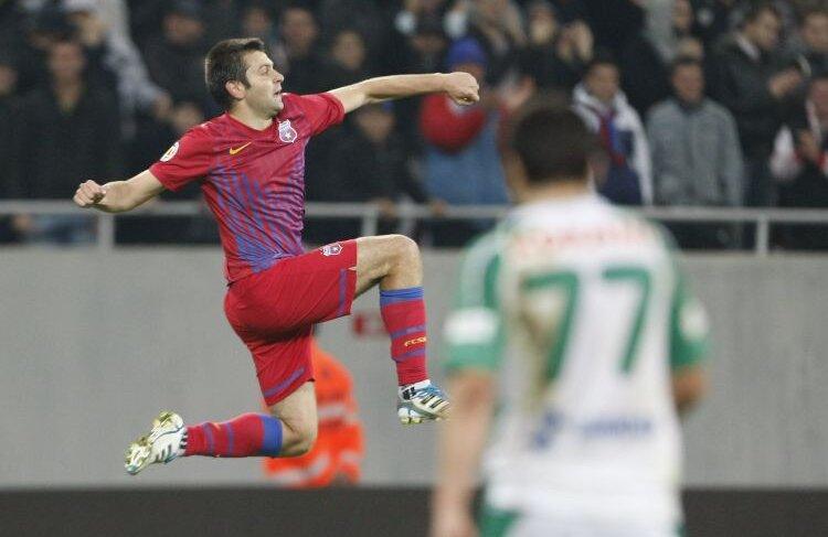 Rusescu este golgeterul Stelei, cu 4 reușite. FOTO Raed Krishan