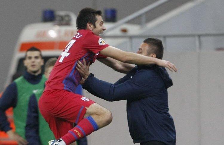 Raul Rusescu a marcat al patrulea gol pentru Steaua în acest sezon