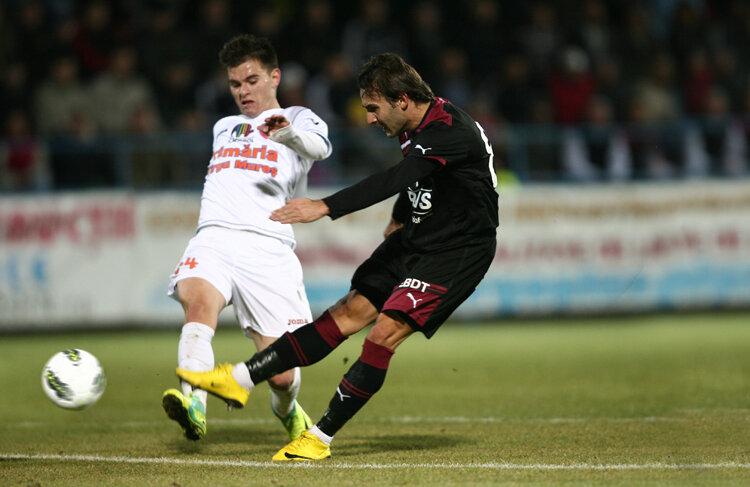 Teixeira a demonstrat aseară că e într-o formă foarte bună, marcînd și aseară, după ce o făcuse și joia trecută, la Varșovia