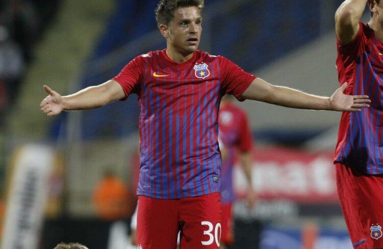 Deși are 328 de minute în tricoul Stelei, Tibi Bălan n-a bifat încă nici un gol și nici o pasă decisivă. FOTO Raed Krishan
