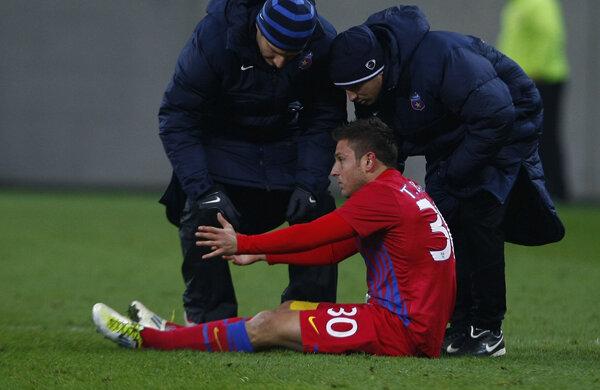 Tibi Bălan a jucat doar 245 de minute pentru Steaua în Liga 1. FOTO Raed Krishan
