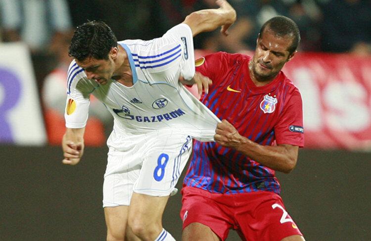 În tur, Steaua și Schalke au terminat la egalitate, 0-0, la Cluj