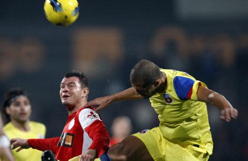 Deşi a marcat, Niculae a privit neputincios cum Steaua cîştigă