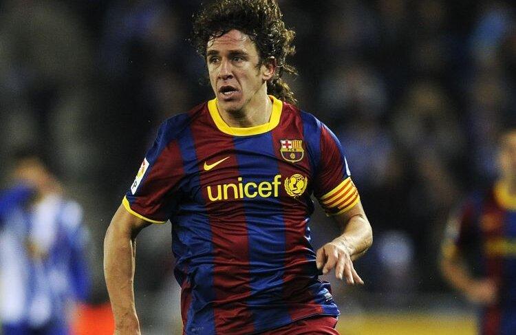 De 12 ani joacă Puyol la Barcelona, singura echipă a carierei sale. Foto: Reuters