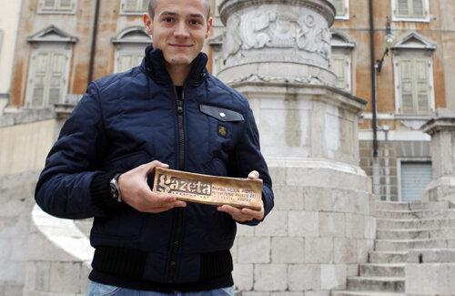 Echipa Gazetei l-a însoţit pe Torje la o plimbare prin centrul istoric din Udine.