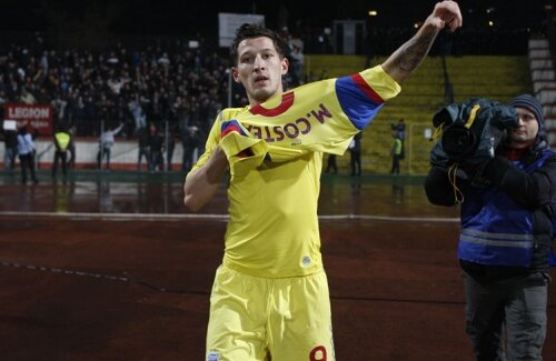 Prestaţia lui Mihai Costea la Steaua a fost una acceptabilă.