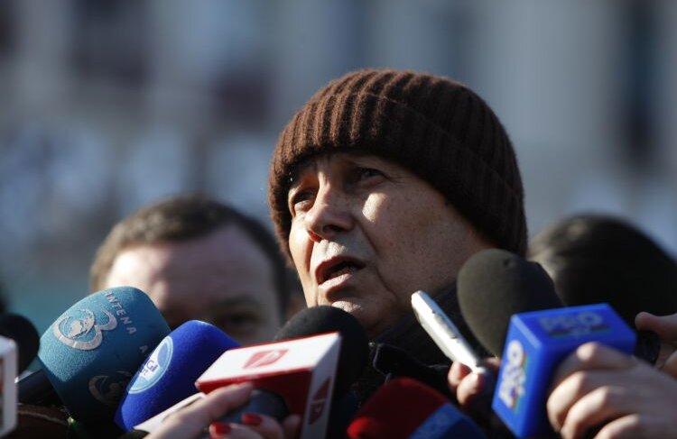 Mircea Lucescu a sărit ieri în apărarea Stelei. FOTO Cristi preda