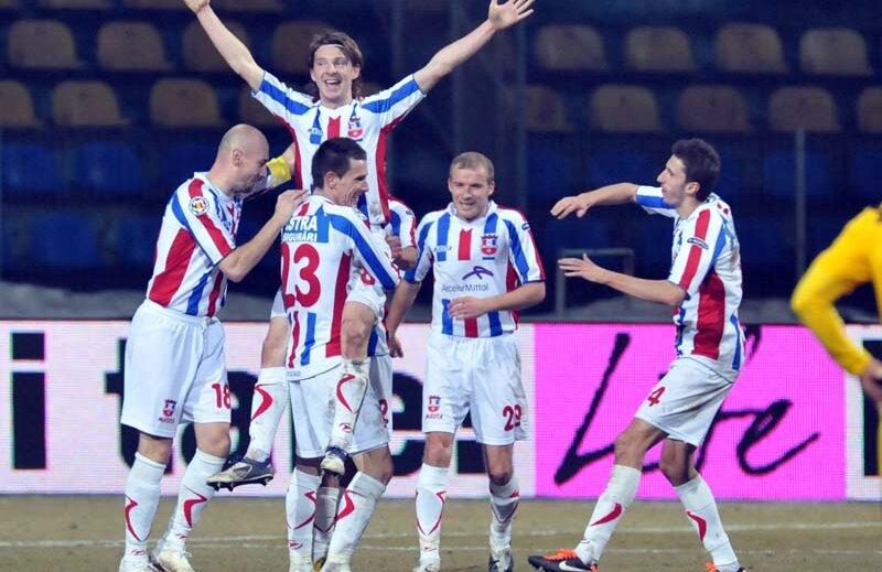 Liviu Antal a marcat un gol şi a contribuit decisiv la cealaltă reuşită.