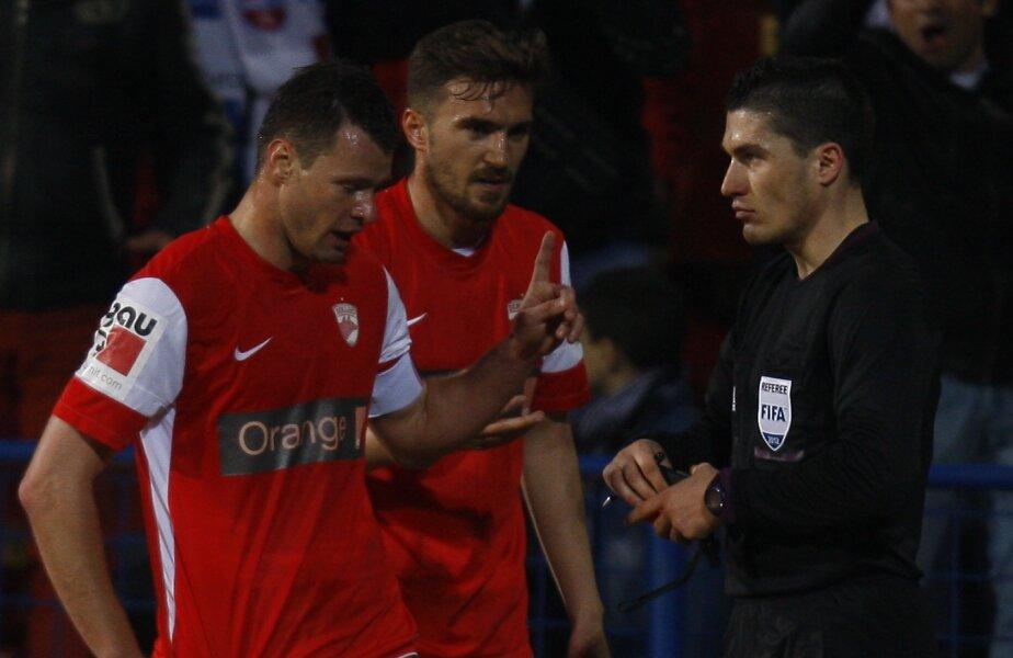 Marius Niculae, eliminat în premieră în Liga I