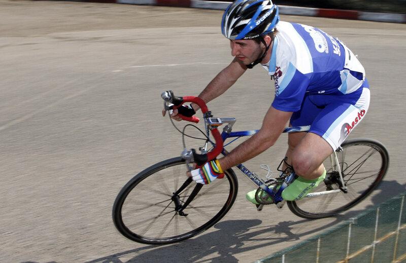 Eduard Grosu a fost în 2011 cel mai bun ciclist român la categoria de vîrstă U23 / Foto Florian Răducanu